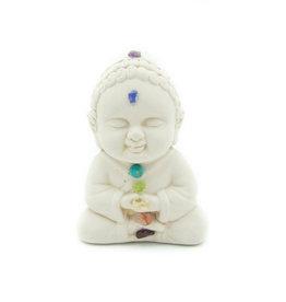 Bouddha plâtre (Chakra)