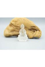 Bouddha quartz clair