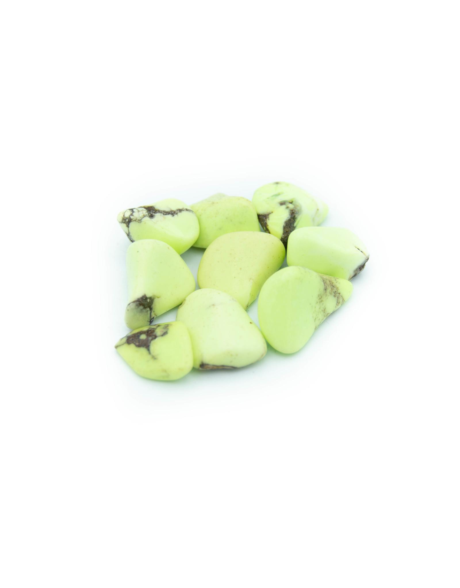 Échantillon Chrysoprase citron