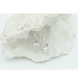 Boucle d'oreille Perle