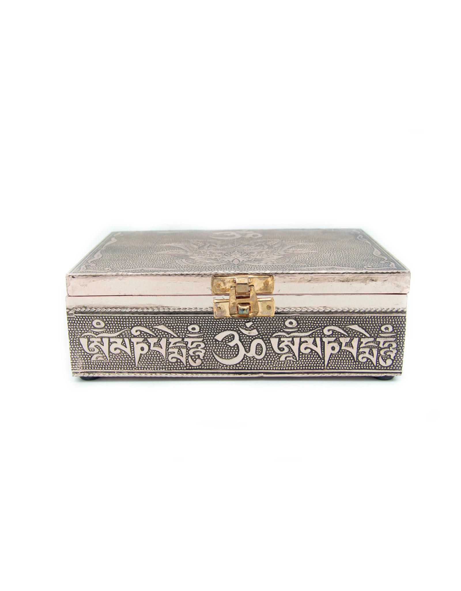 Metallic Box OM-Lotus