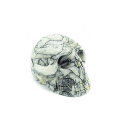 Pinolite Skull Head