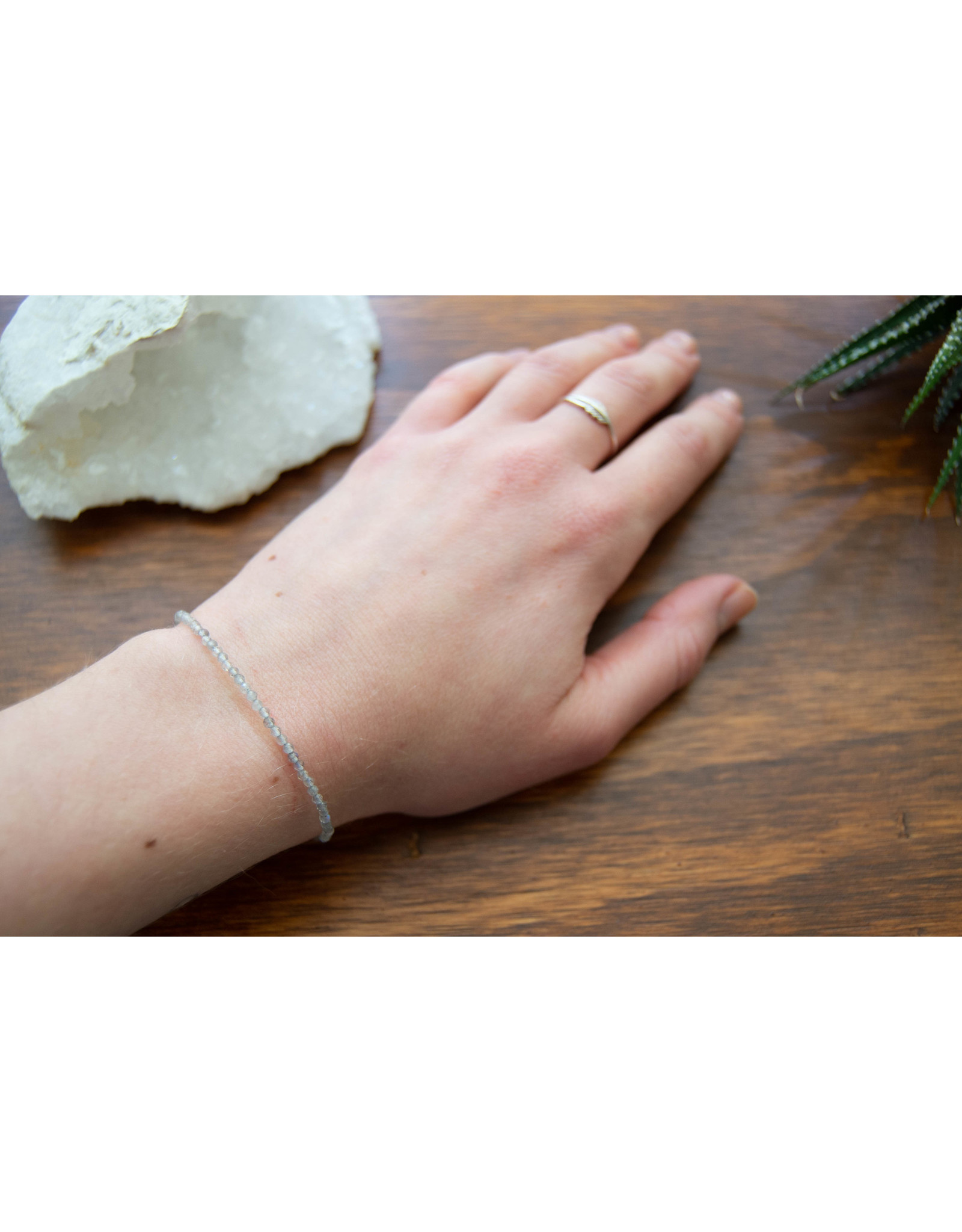 Bracelet Labradorite mini