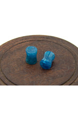 Blue Apatite Ear Plugs - 6mm