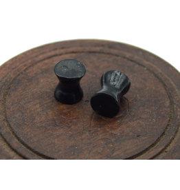 Black Tourmaline Ear Plugs