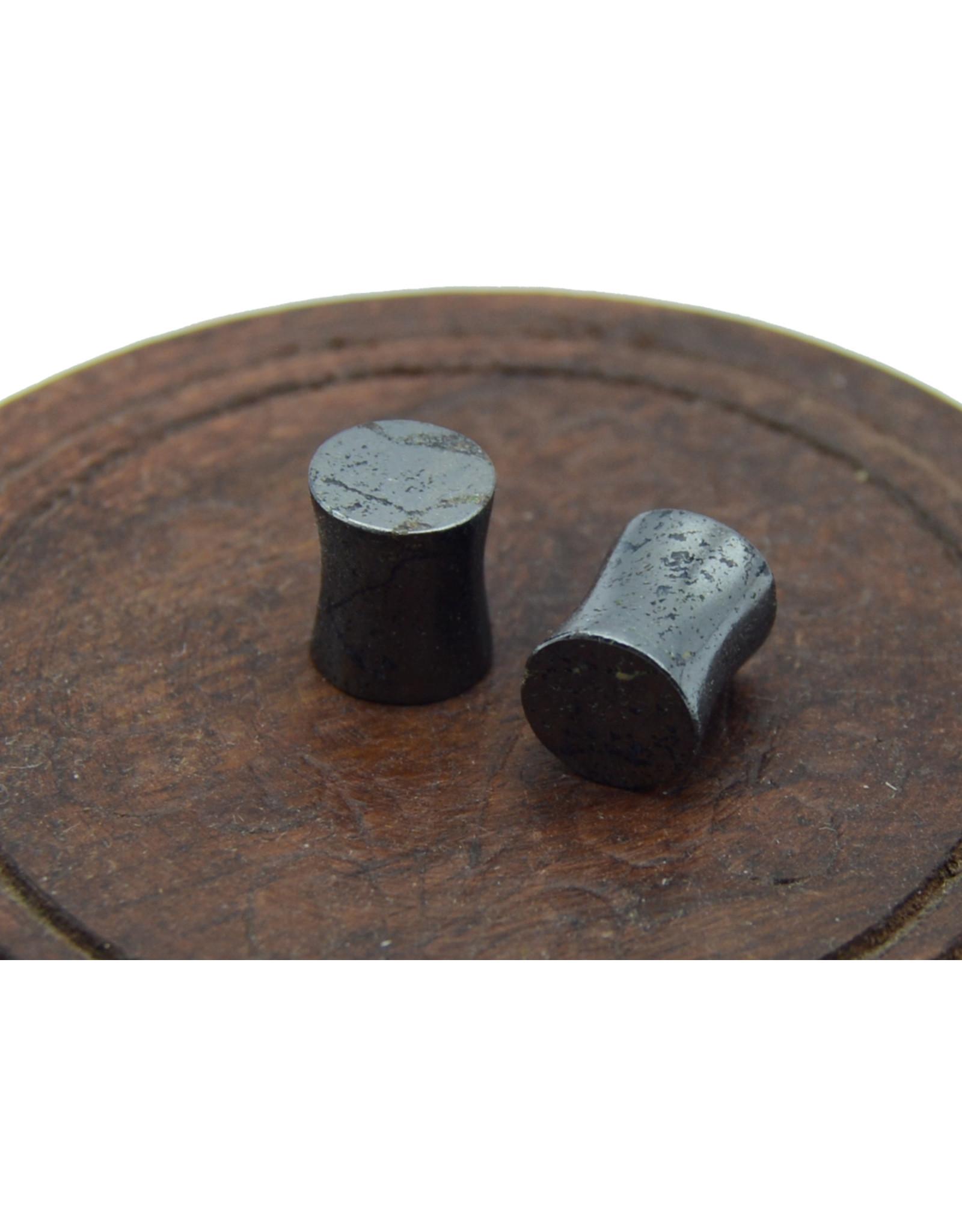 Hematite Ear Plugs