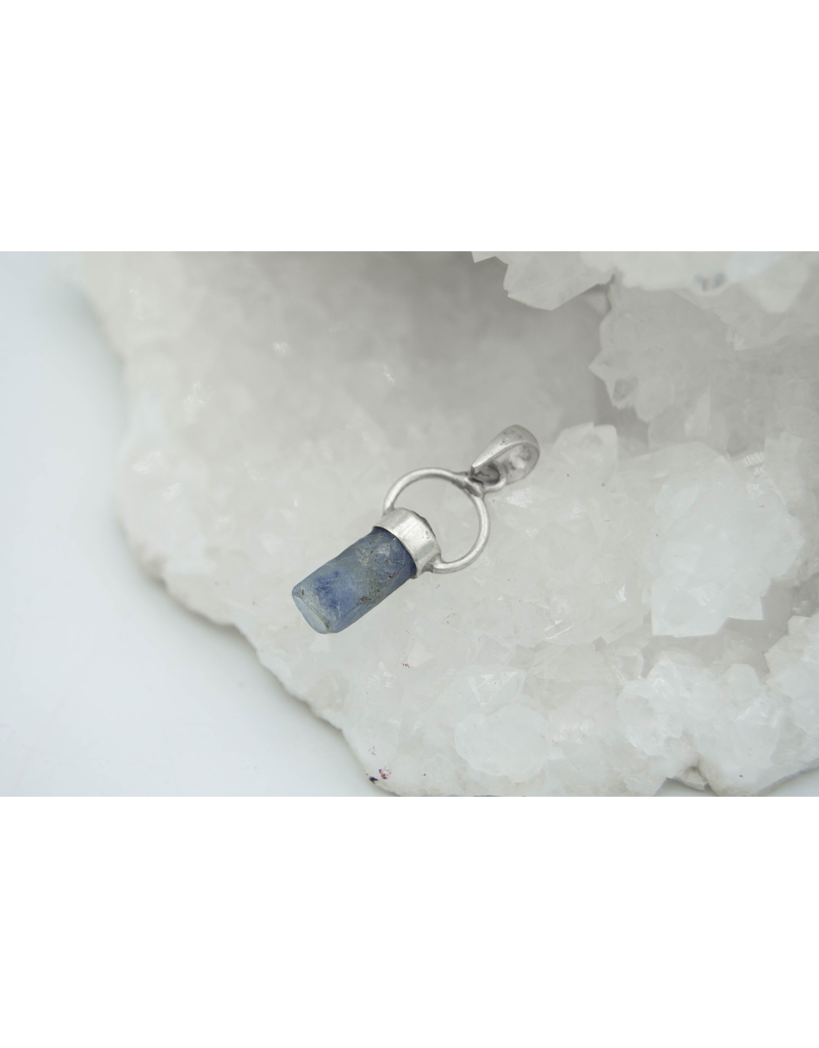 Raw Sapphire Pendant