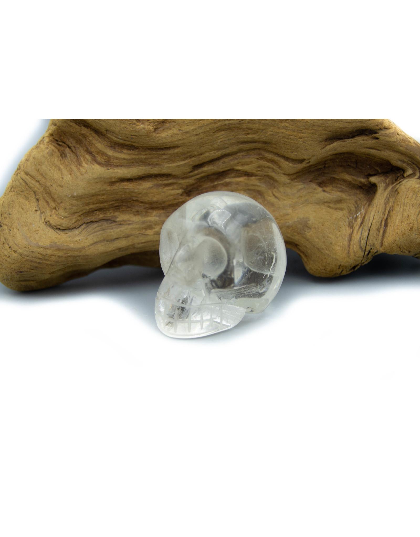 Crâne Quartz clair