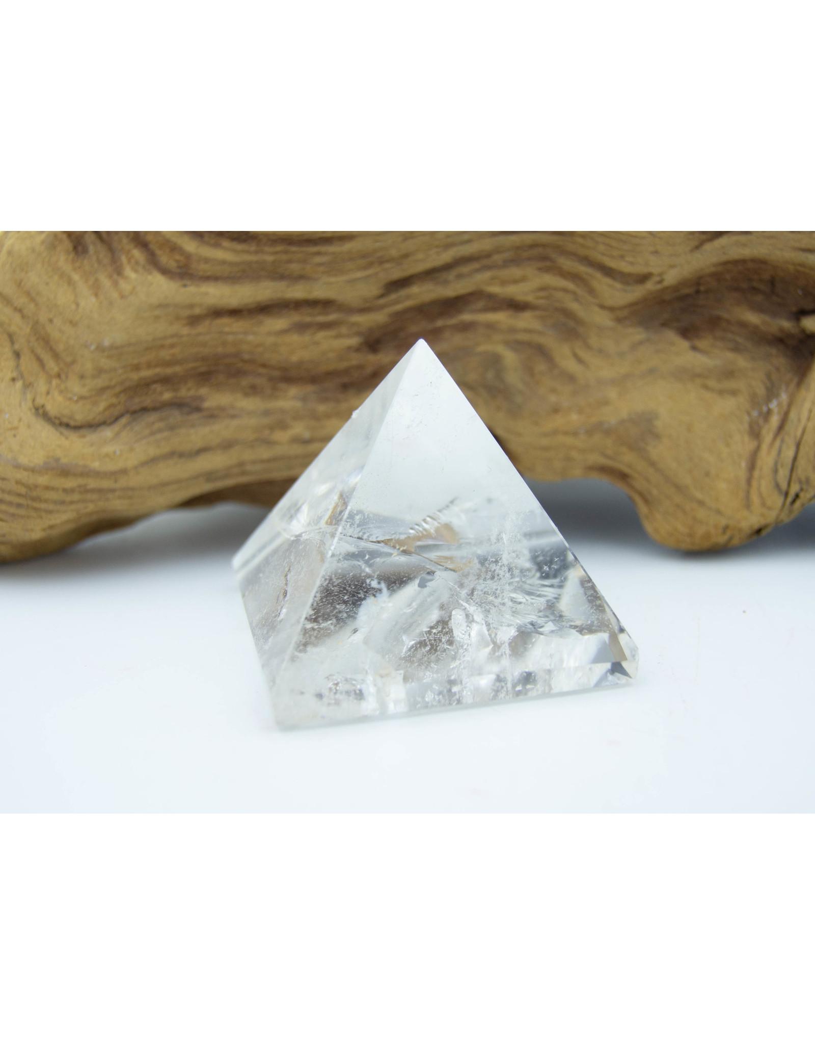 Pyramide quartz clair