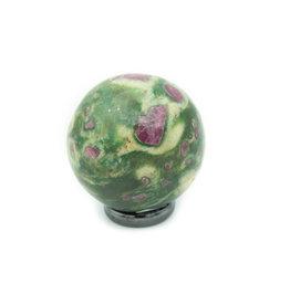 Sphère Rubis Zoïsite