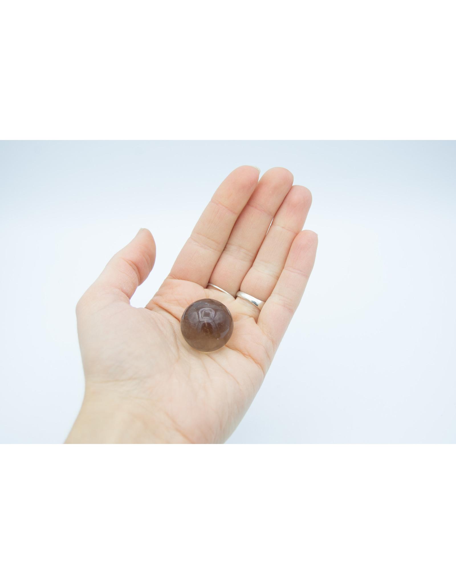 Quartz fumé mini sphère