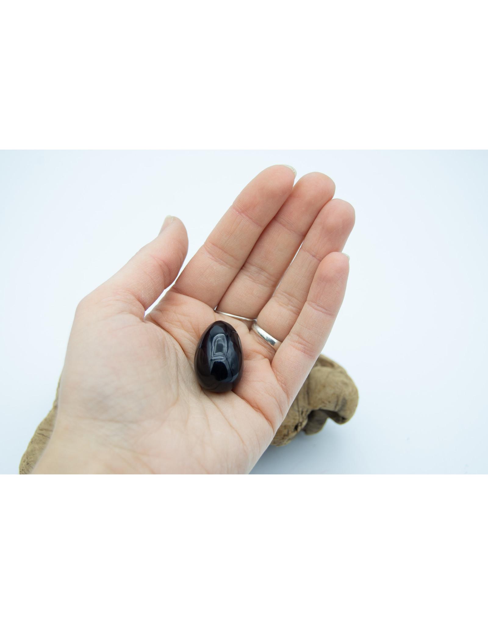 Black Obsidian Egg