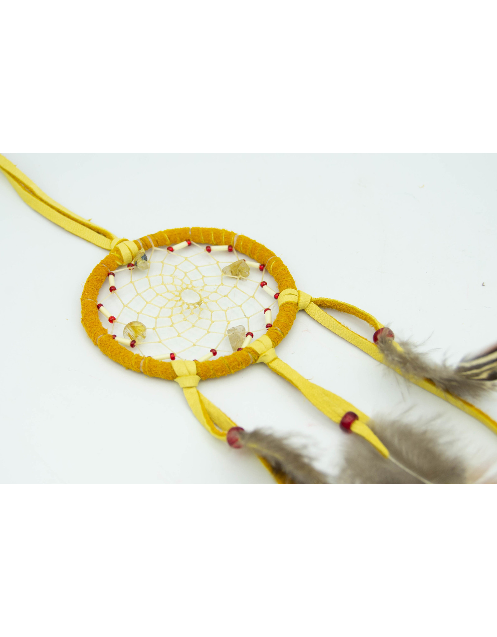 Dream Catcher - Rutilated Quartz