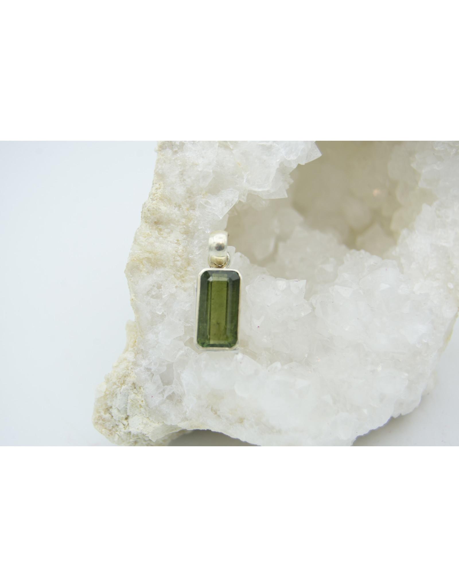 Green Tourmaline Pendant
