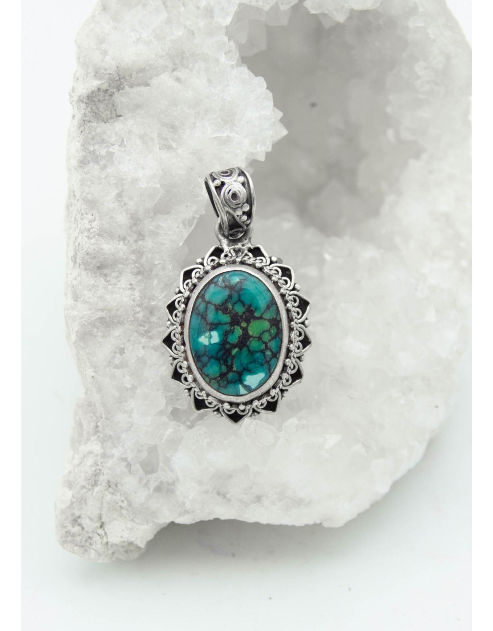 Pendentif Turquoise
