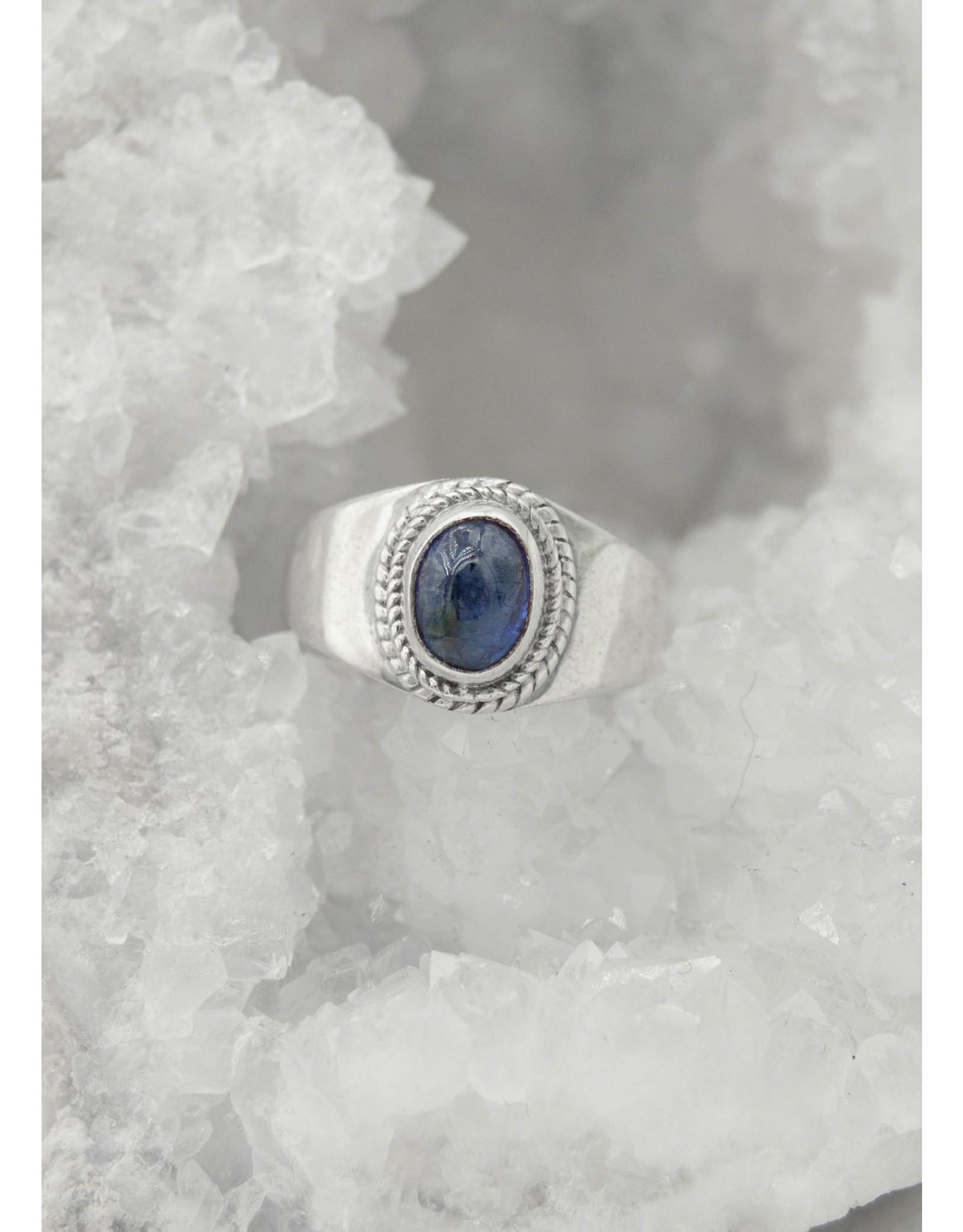 Bague Cyanite Bleue