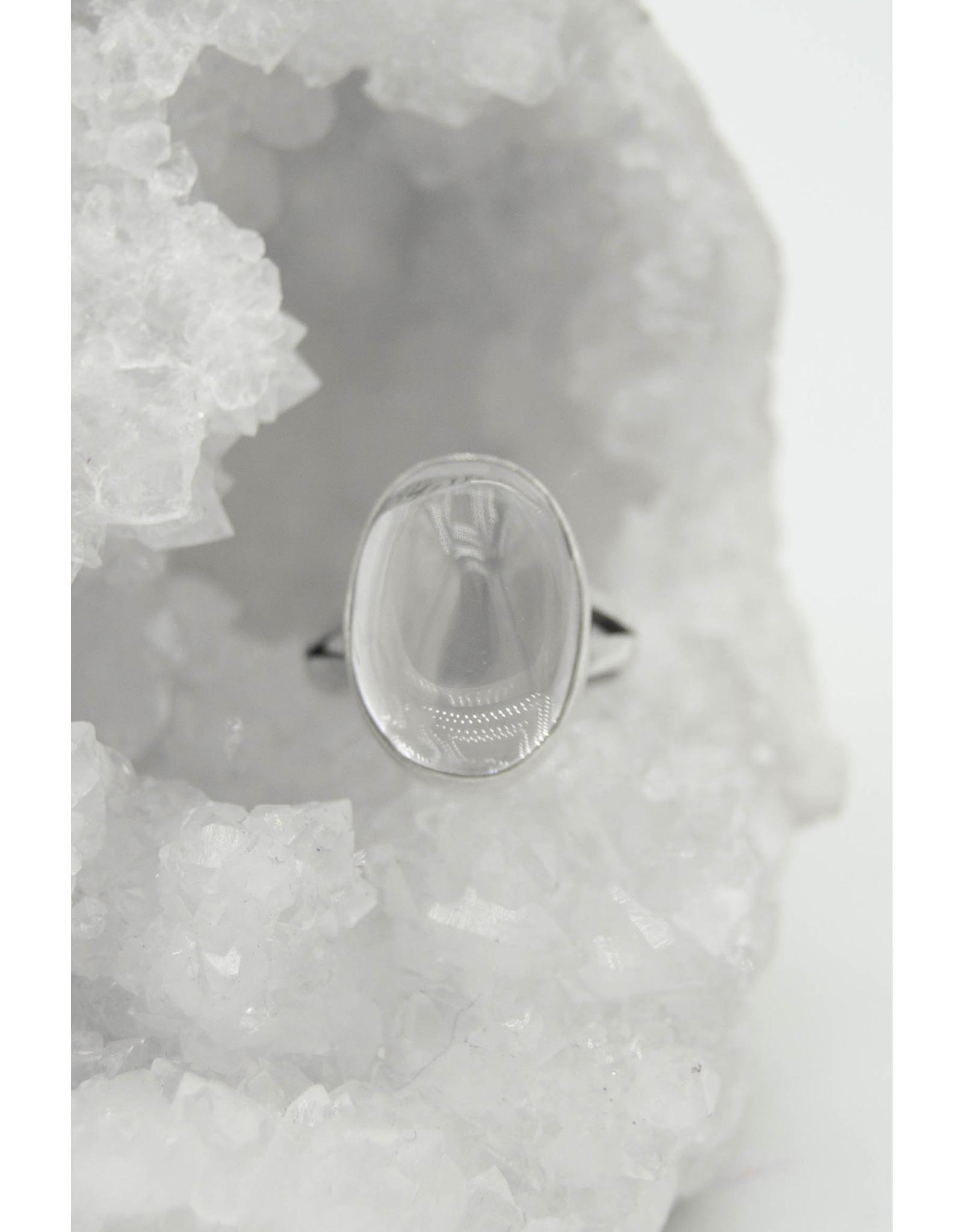 Clear Quartz Ring