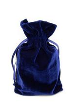 Pochette en velours (Bleue)
