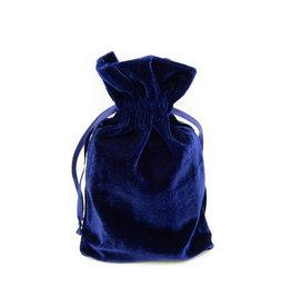 Velvet Pouch (Blue)