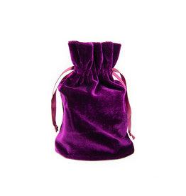 Pochette en velours (Violette)