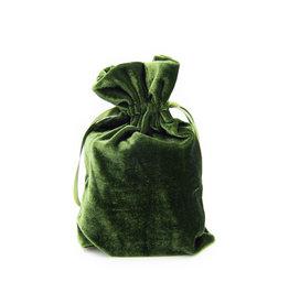 Velvet Pouch (Green)