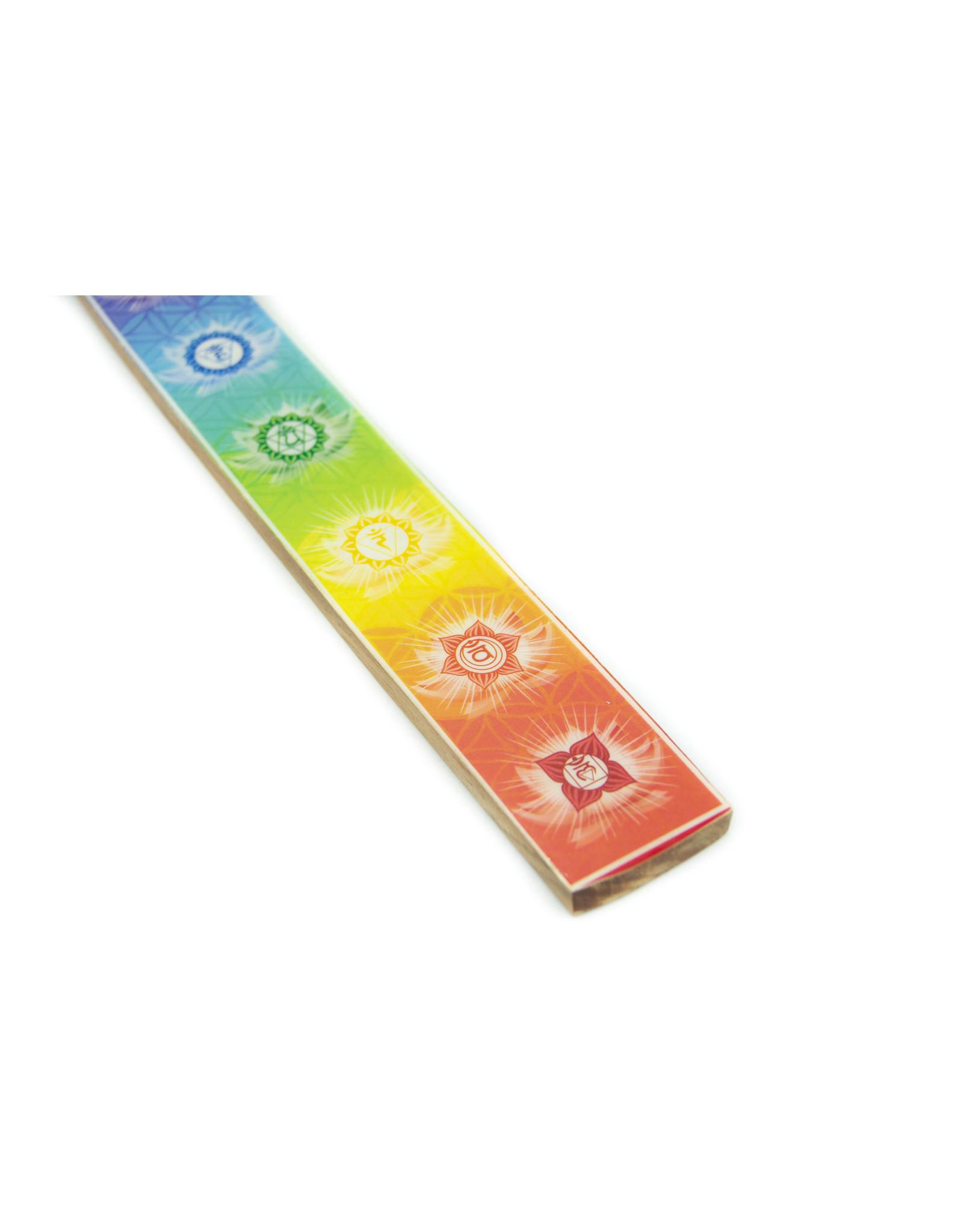 Porte-encens couleurs 7 Chakras