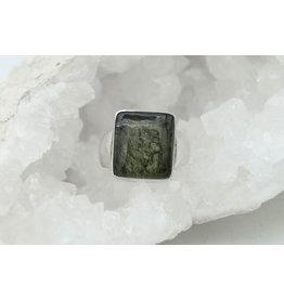 Bague Moldavite