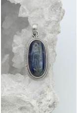 Pendentif Cyanite bleue