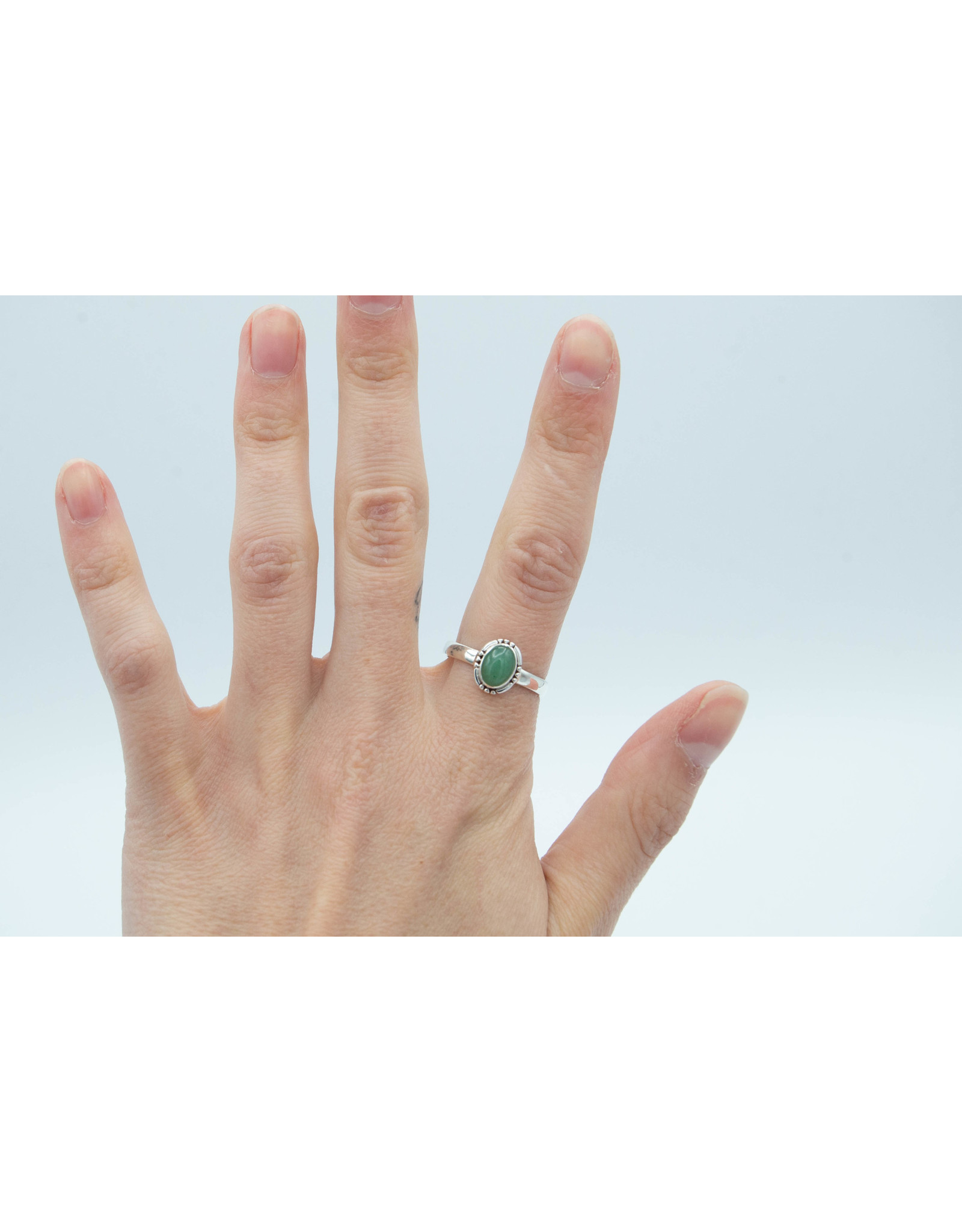 Green Aventurine Ring