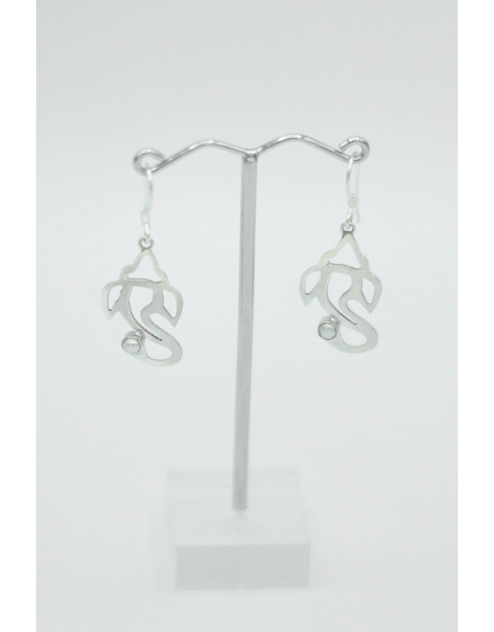 Boucles d'oreilles argent