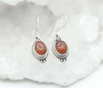 Sun Stone Earrings