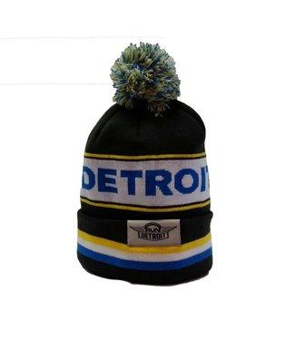 RUNdetroit Knit Pom Hat