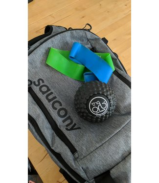 Perform Better Mini Resistance Bands Greenx2 Bluex1