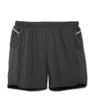 "Brooks Sherpa 7"" 2-in-1 Short"