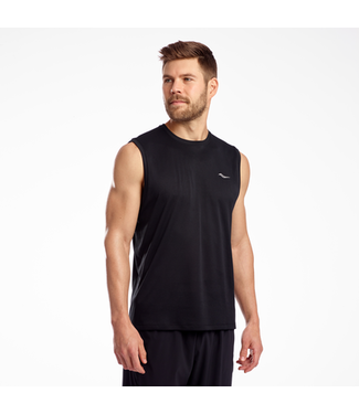 Saucony Men's Stopwatch Sleeveless Tank