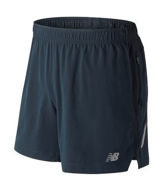 "New Balance Men's Impact 5"" Short Galaxy Small"