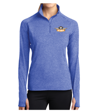 RUNdetroit Women's Half Zip