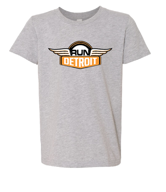 RUNdetroit Kid's Cotton Short Sleeve