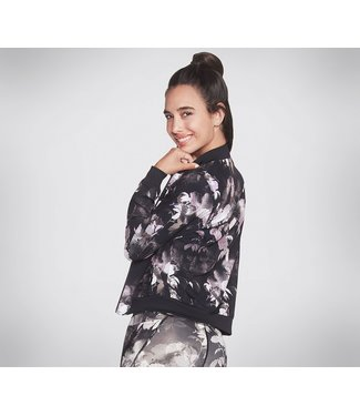 Skechers Ink Floral Reversible Bomber Jacket