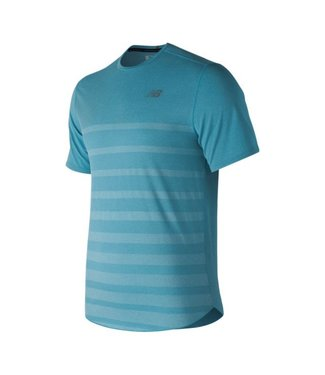 New Balance Men's Q Speed Jacquard Short Sleeve