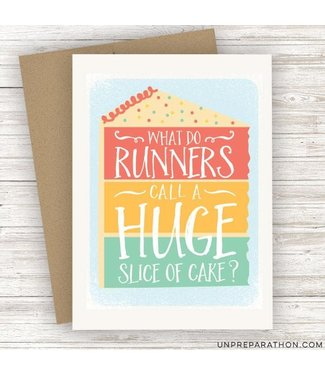 Unpreparathon Carb Loading Greeting Card
