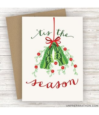 Unpreparathon Tis the Season Greeting Card