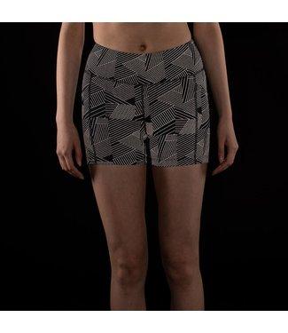 Oiselle Firecracker Reflective Shorts