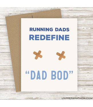 Unpreparathon Father Figure Greeting Card