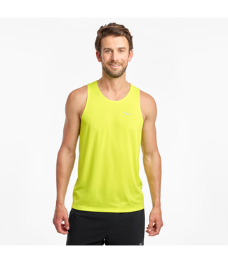 Saucony Men's Stopwatch Singlet
