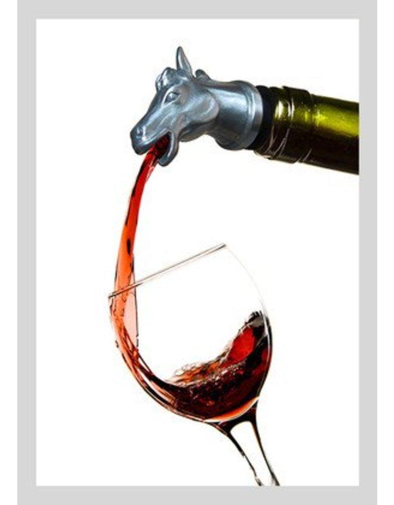 Menagerie Horse Wine Pourer/Aerator