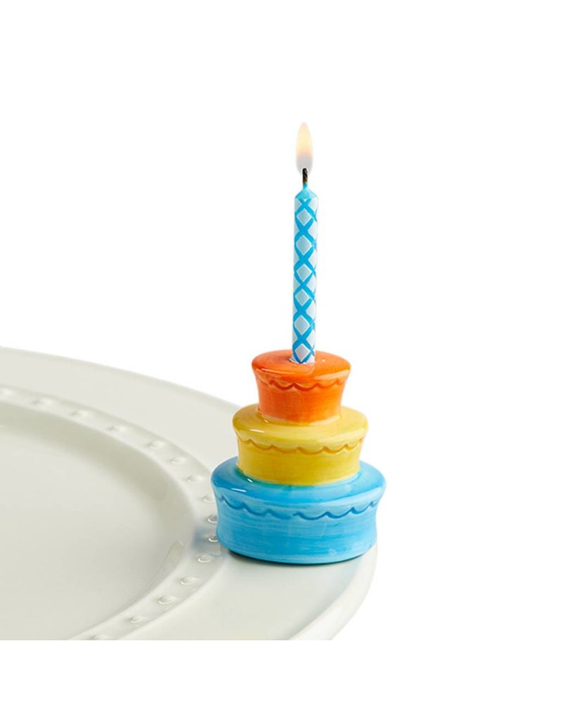 Nora Fleming NF Best Birthday Ever (candle holder cake)