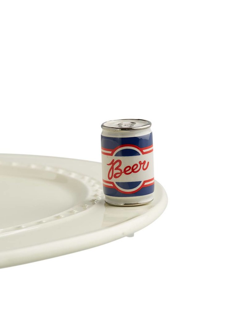 Nora Fleming NF Beer Can