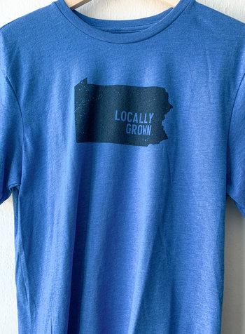 Men's Locally Grown Pennsylvania T-shirt