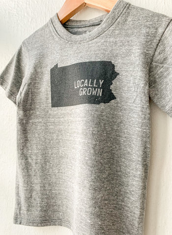 Kids Locally Grown Pennsylvania T-shirt